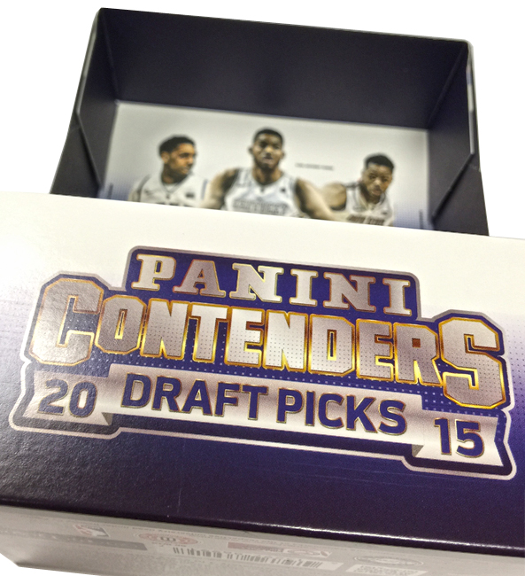 Panini America 2015 Contenders Draft Picks Basketball QC2