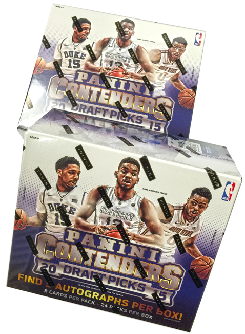 Panini America 2015 Contenders Draft Picks Basketball Teaser1