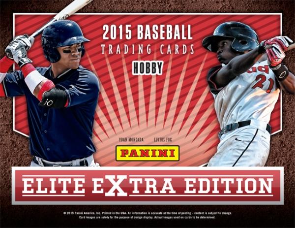 Panini America 2015 EEE Baseball Main