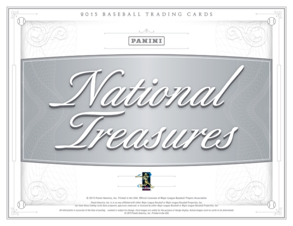 Panini America 2015 National Treasures Baseball Main