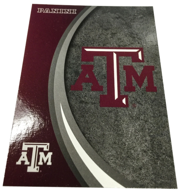 Panini America 2015 Texas A&M Card Set3