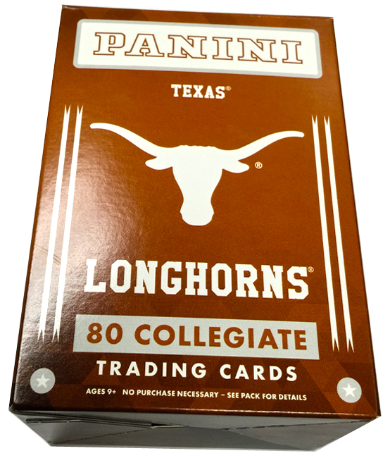 Panini America 2015 University of Texas Set1