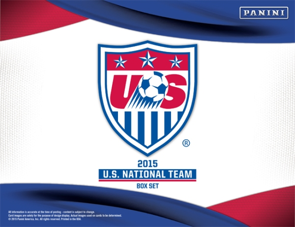 Panini America 2015 US Soccer Boxed Set