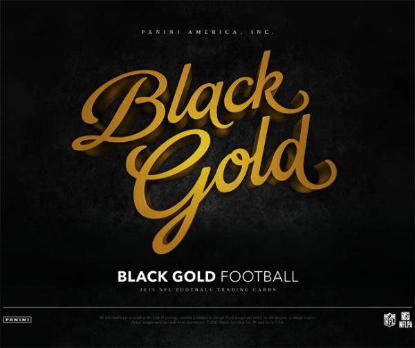 Panini America 2015 Black Gold Football