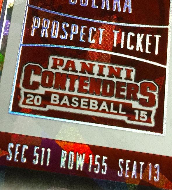 Panini America 2015 Contenders Baseball QC134
