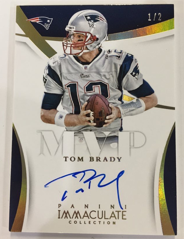 Panini America Initiates Packout Process for 2015 Immaculate Football  (Gallery)  53acc1ead