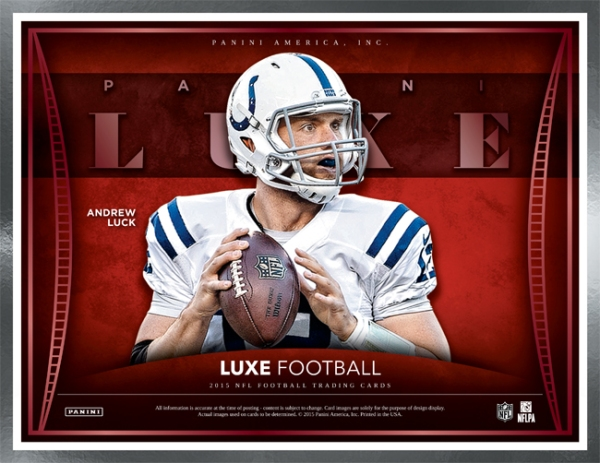 Panini America 2015 Luxe Football Main