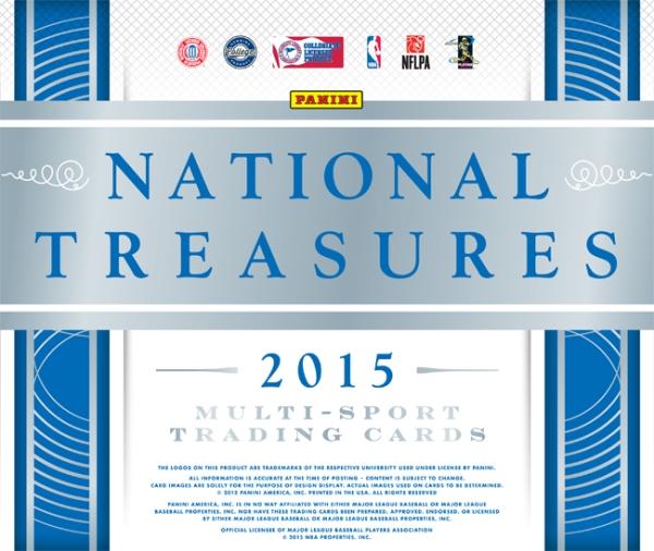 Panini America 2015 National Treasures Multi-Sport Main