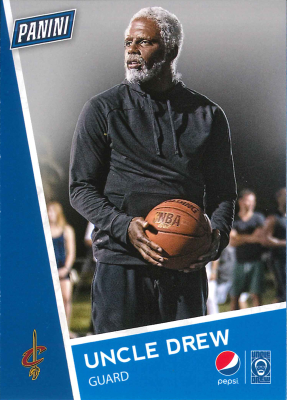 Cleveland Cavs Pepsi Panini America Set To Unveil Uncle Drew Rookie Cards Tonight