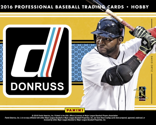 2016 Donruss Baseball Main