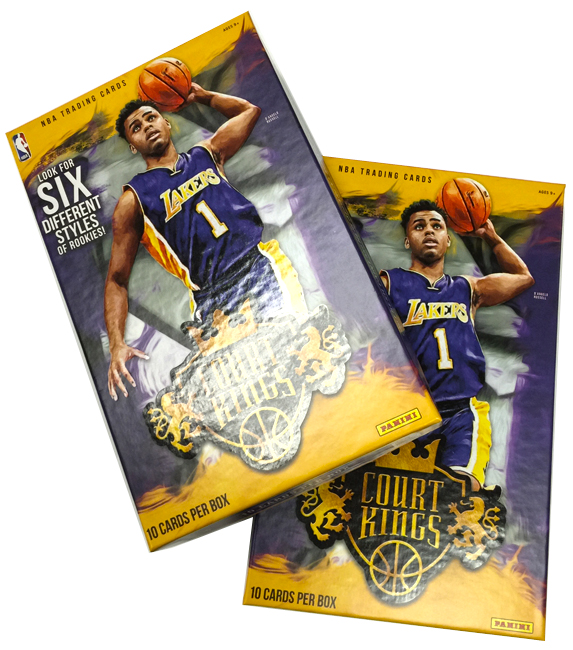Panini America 2015-16 Court Kings Basketball QC1