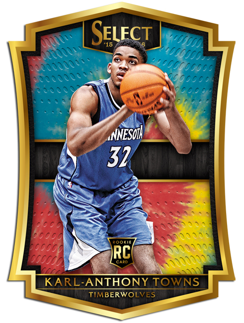 Panini America 2015-16 Select Basketball Karl-Anthony Towns