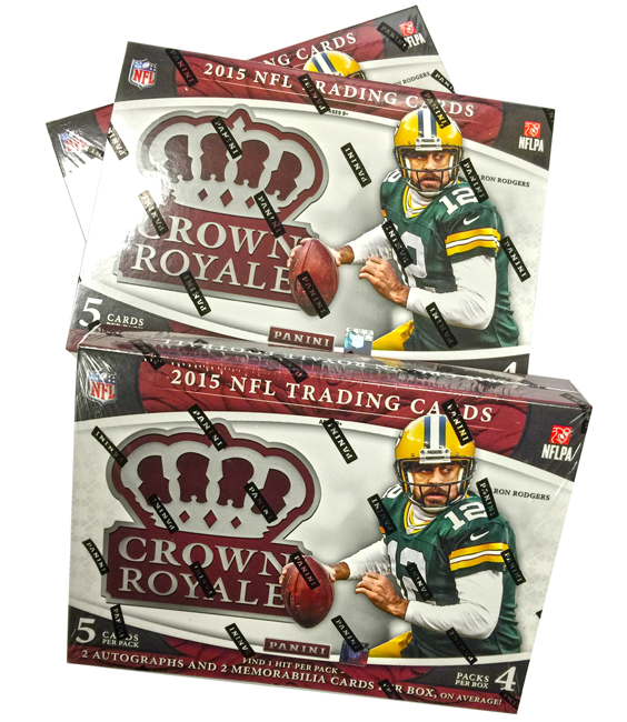 Panini America 2015 Crown Royale Football Teaser1