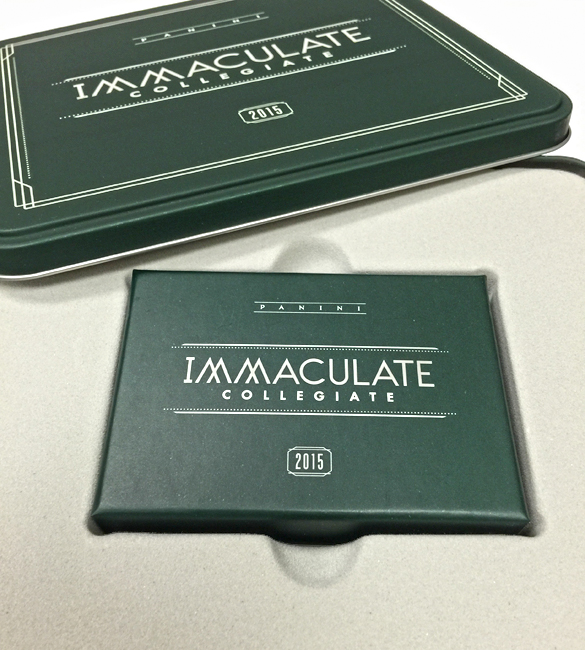 Panini America 2015 Immaculate College Teaser19