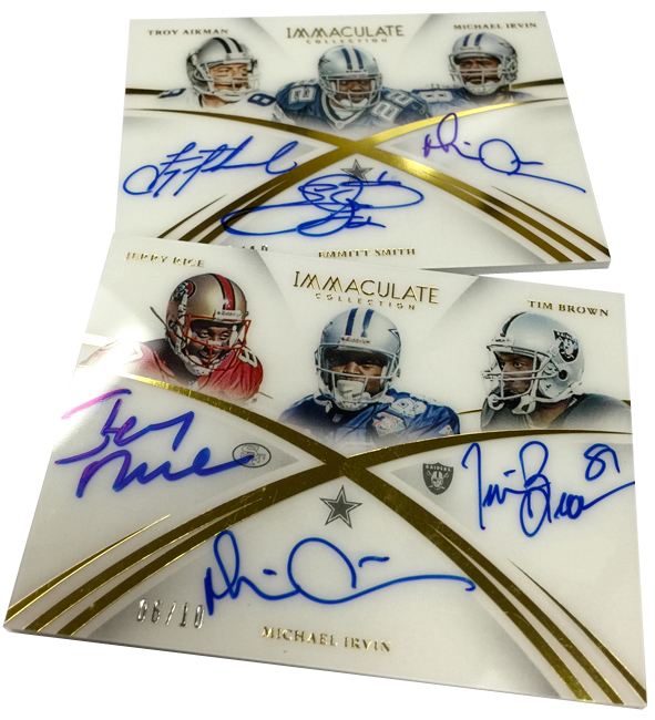 Panini America 2015 Immaculate Football Incoming Redemptions3