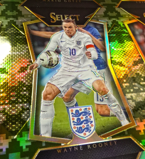 Panini America 2015 Select Soccer Camo Uncut3