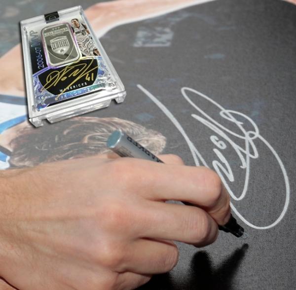 Panini America Dirk Nowitzki Signing November5 copy