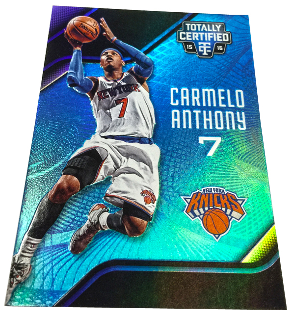 Panini America 2015-16 Totally Certified Basketball QC50