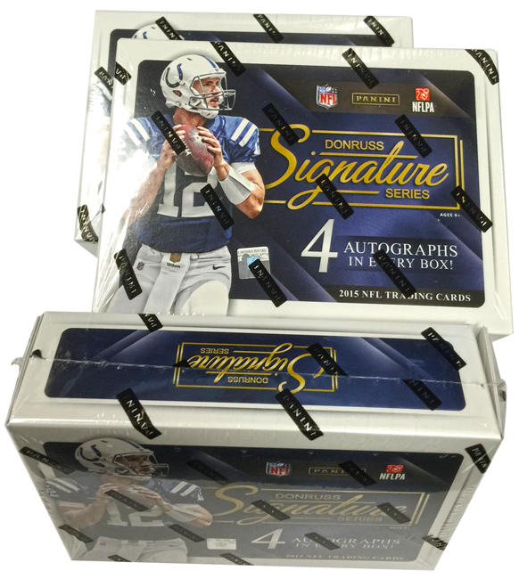Panini America 2015 Donruss Signature Series Football Teaser1