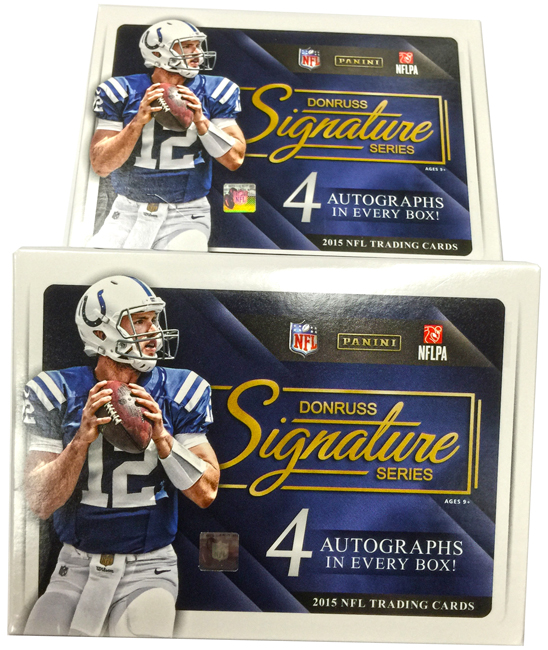 Panini America 2015 Signature Series Football QC4