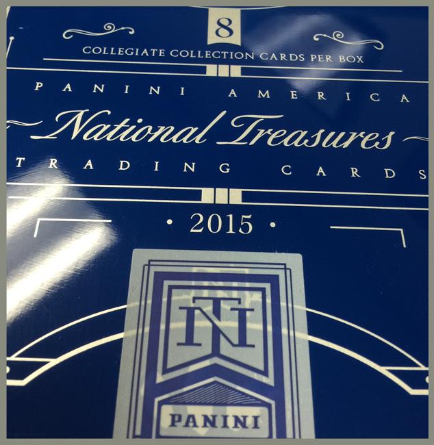 Panini America National Treasures College QC3