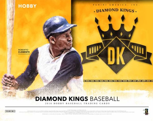 2016 Diamond Kings Baseball Roberto Clemente