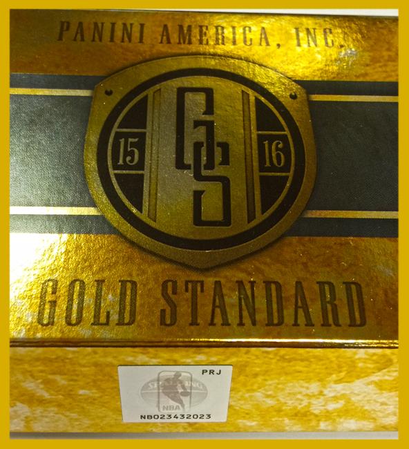 Panini America 2015-16 Gold Standard Basketball QC1