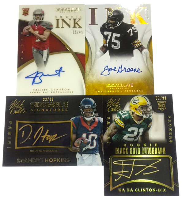 Panini America 2015 Black Gold Update Main