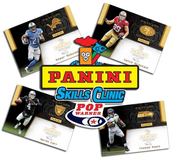 Panini America 2016 Pop Warner Skills Clinic Main