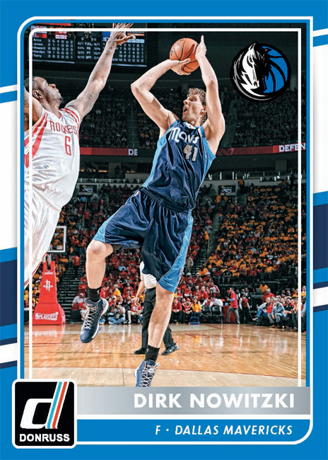 Panini America 2015-16 Dallas Mavericks Dirk Nowitzki
