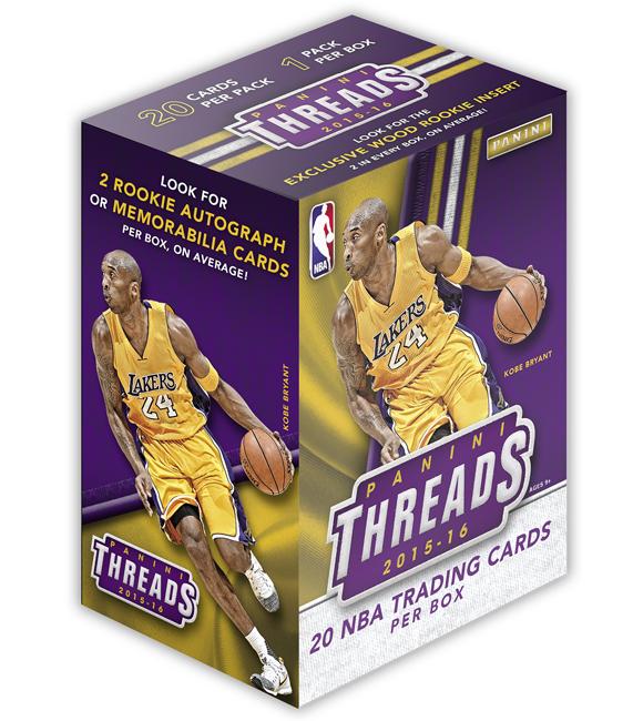 Panini America 2015-16 Threads Basketball Box