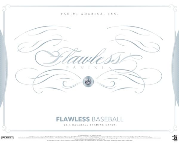 Panini America 2016 Flawless Baseball Main