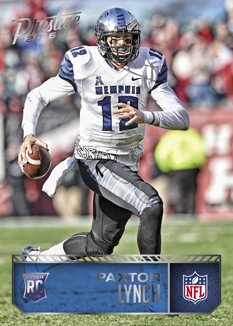 Panini America 2016 Prestige Football Paxton Lynch