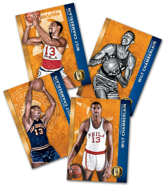 Panini America Gold Standard Basketball Variations