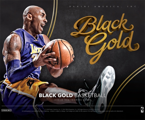 Panini America 2015-16 Black Gold Basketball Main