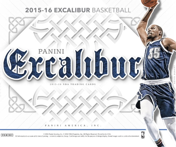 Panini America 2015-16 Excalibur Basketball Main