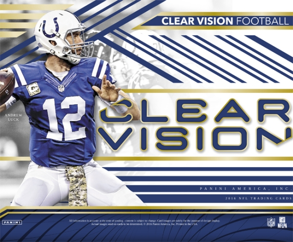 Panini America 2016 Clear Vision Football Main