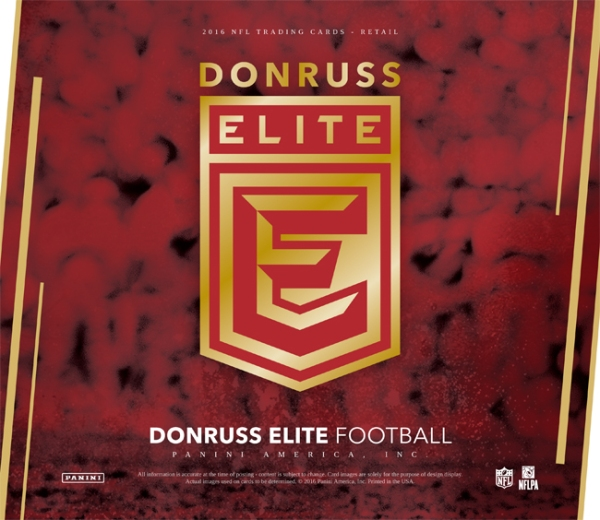 Panini America 2016 Donruss Elite Football Main
