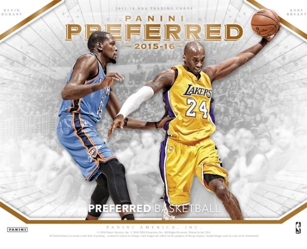 Panini America 2015-16 Preferred Basketball Main
