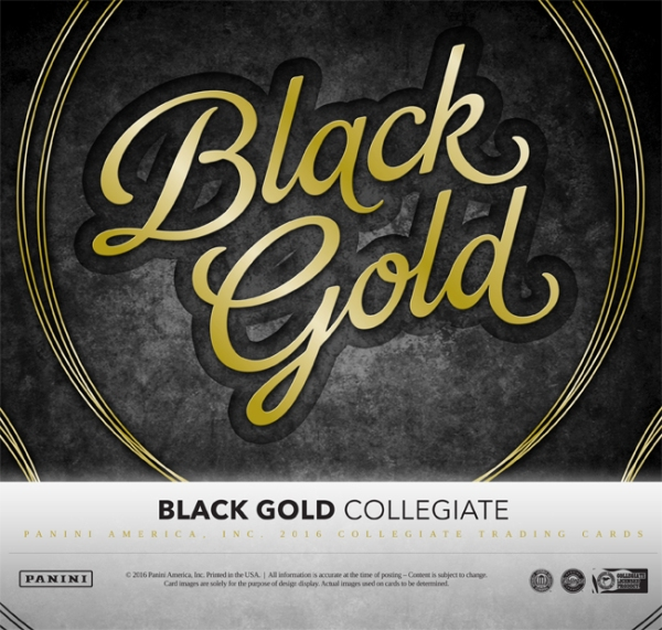 Panini America 2016 Black Gold Collegiate Main