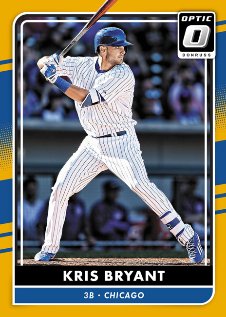 Panini America 2016 Donruss Optic Baseball Kris Bryant