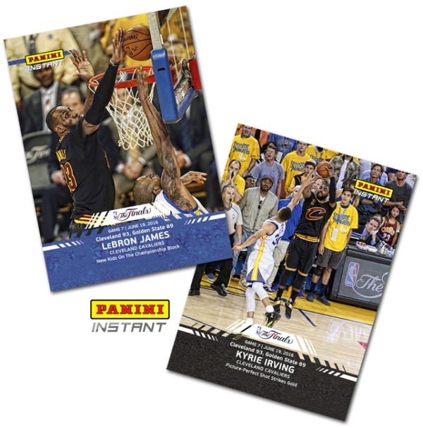 Cavs Game 7 Panini Instant BLOG