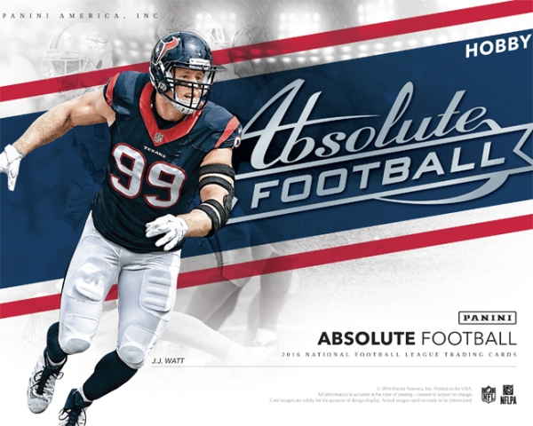 Panini America 2016 Absolute Football Main