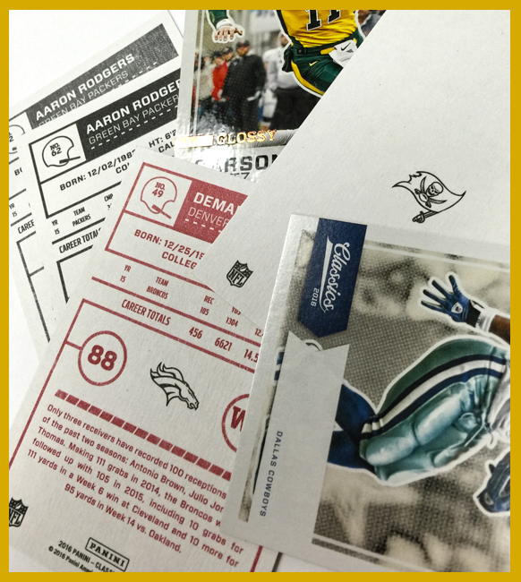 Panini America 2016 Classics Football SPs & Variations1