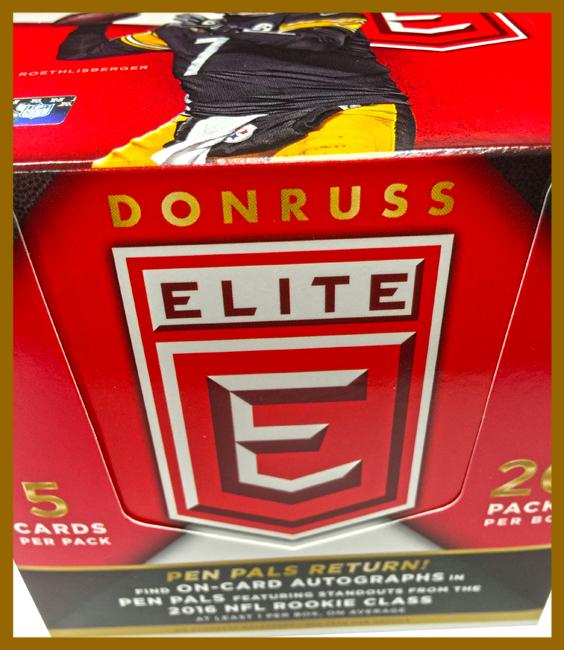Panini America 2016 Donruss Elite Football Teaser41