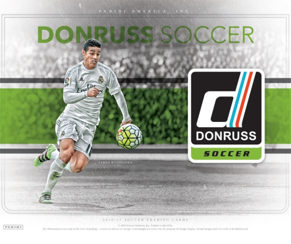 Panini America 2016 Donruss Soccer Main