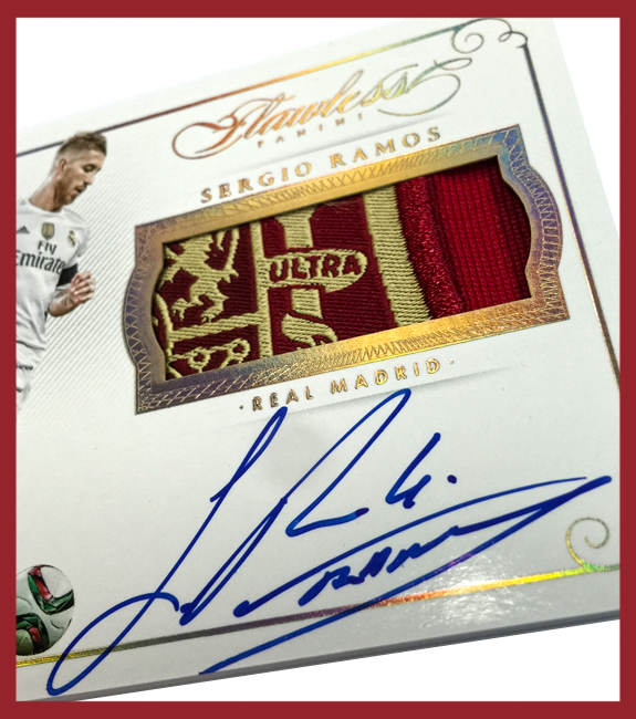 Panini America 2016 Flawless Soccer Auto Peek Part One96