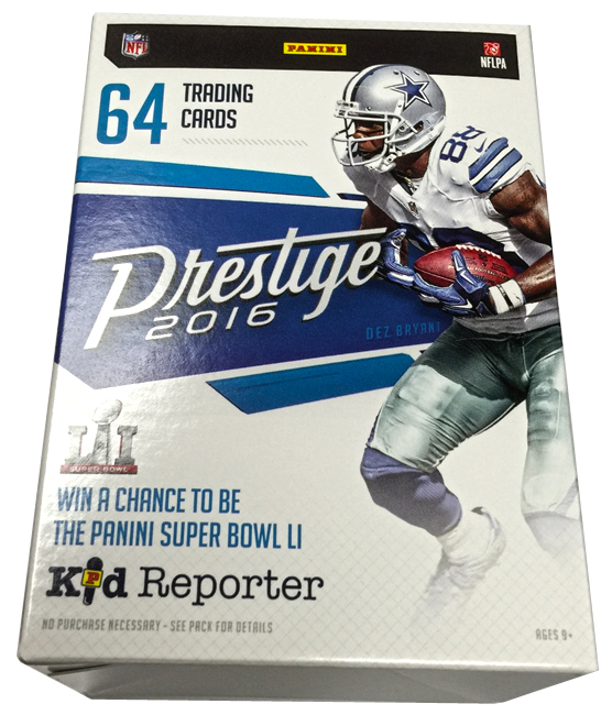 Panini America 2016 Prestige Football Retail Exclusives84