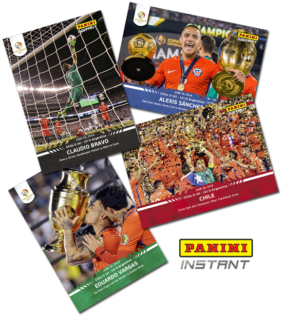 Panini Instant Chile Wins