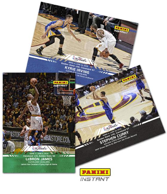 Panini Instant NBA Finals Blog